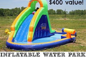 BLAST ZONE HYDRO RUSH INFLATABLE WATER PARK GIVEAWAY