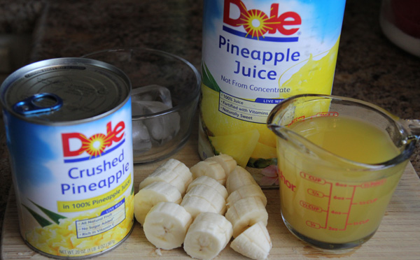 Pineapple Banana Ingredients