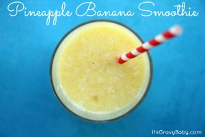Pineapple Banana Smoothie Recipe