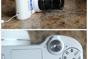 Samsung Compact Smart Camera with WiFi