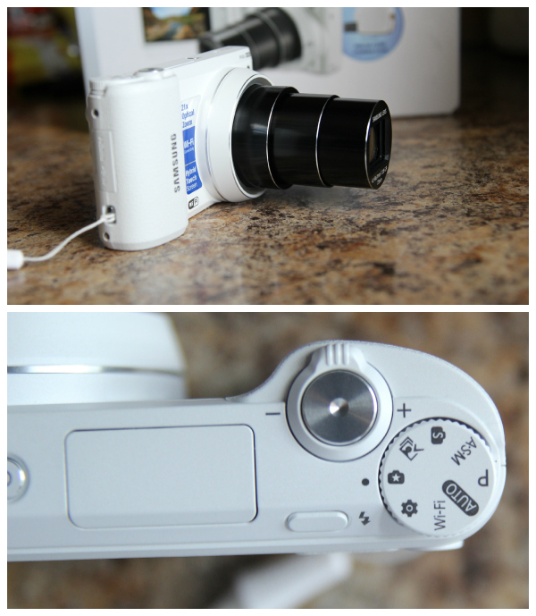 Samsung Smart Camera Review - WB800F with WiFi, Touch Screen