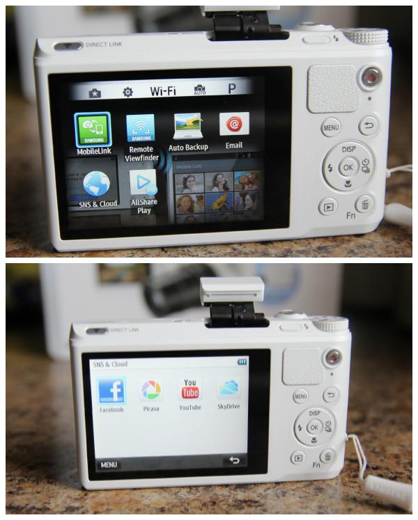 Smart Cameras Wi-Fi Social Sharing
