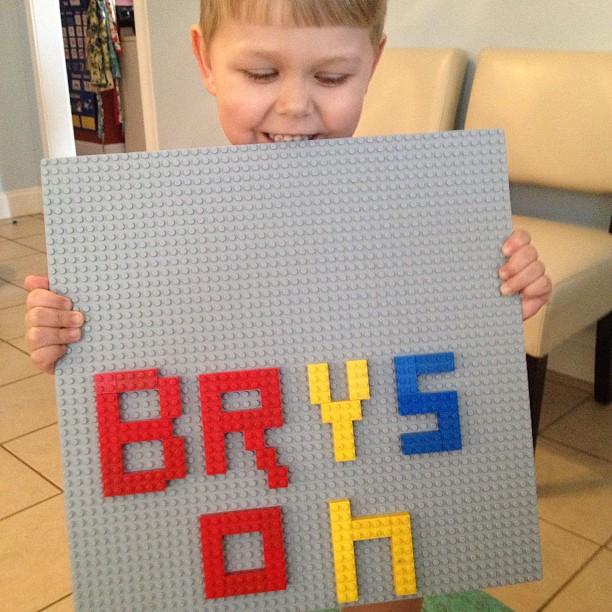 lego spelling