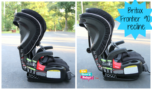 Britax Frontier 90 Review Recline