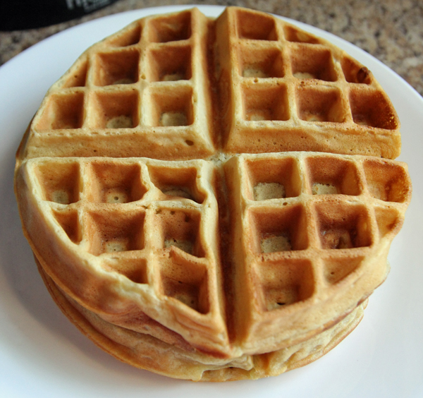 Coffee Waffles Recipe