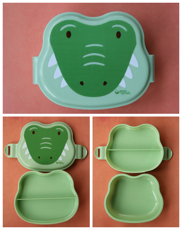 Green Sprouts On Safari Bento Box