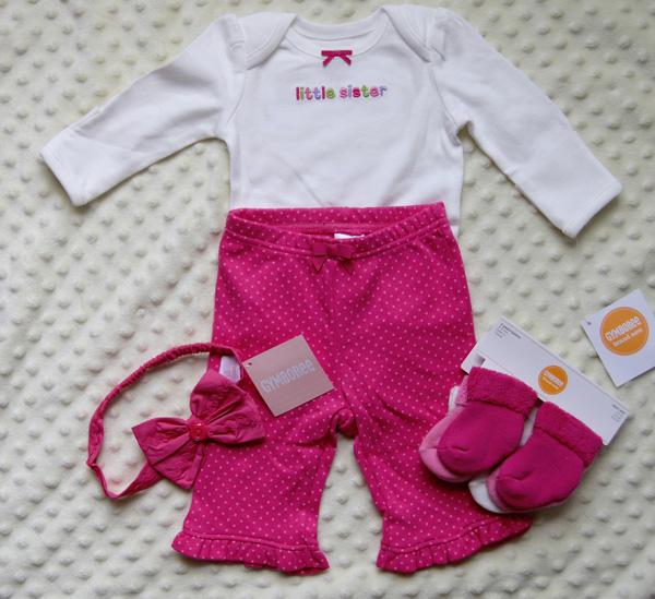 Gymboree brand new baby collection