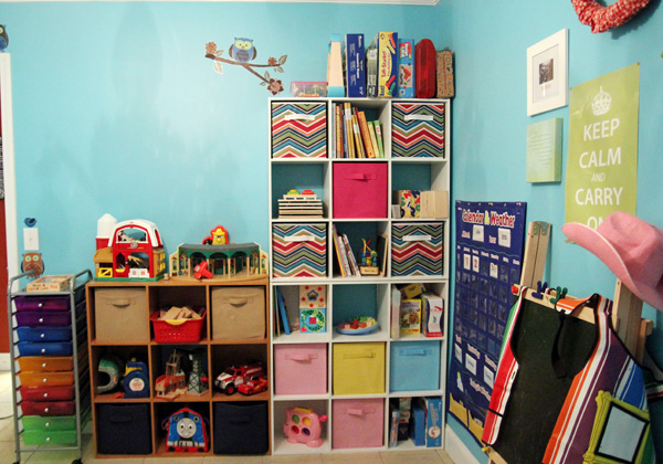 Homeschool Room Play Room