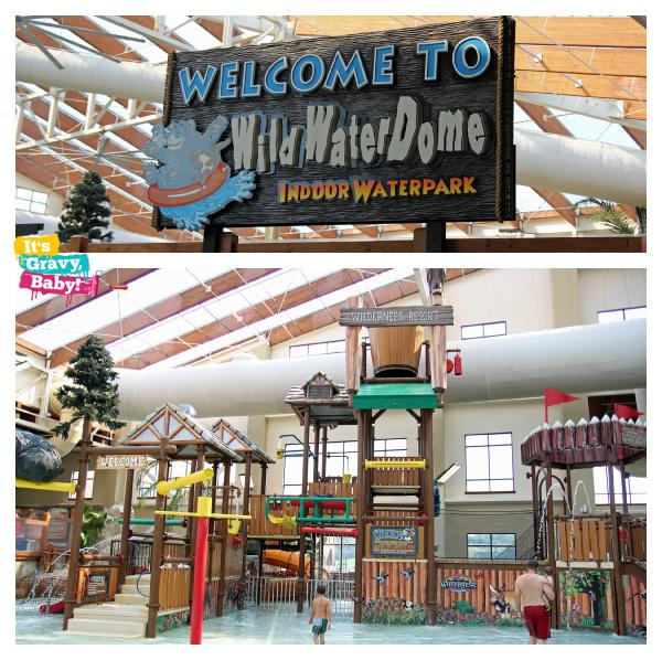 Wilderness at the Smokie Wild Water Dome Indoor Waterpark