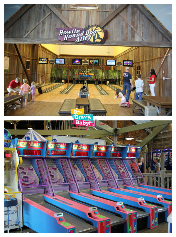 Wilderness at the Smokies Adventure Forest Arcade Bowling
