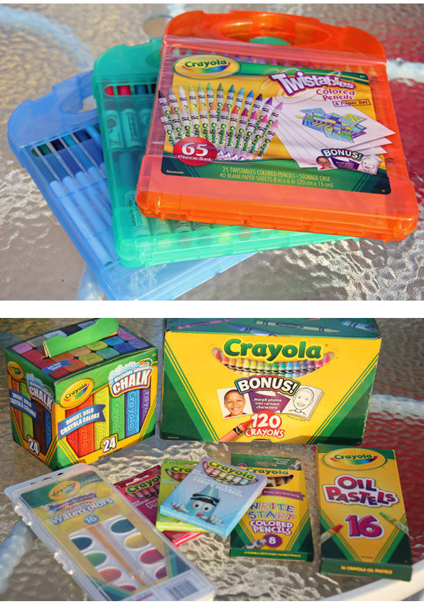 Crayola Back to School Shopping