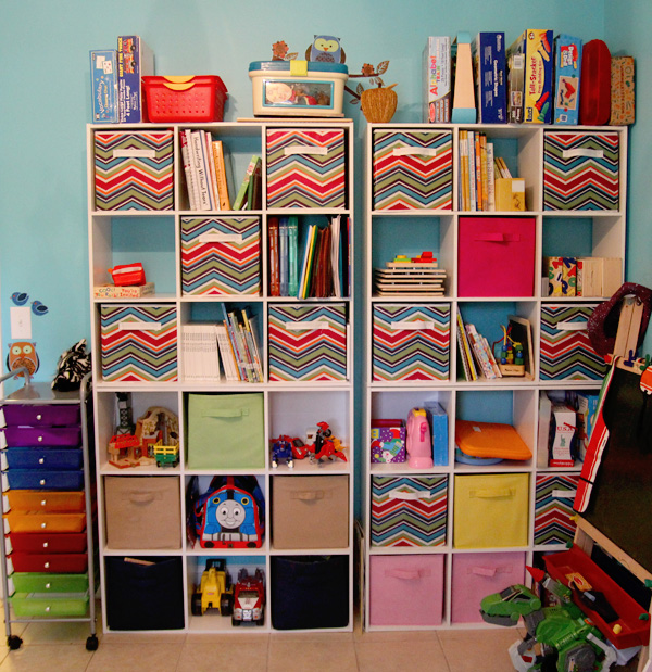 Cube Storage Play School Room