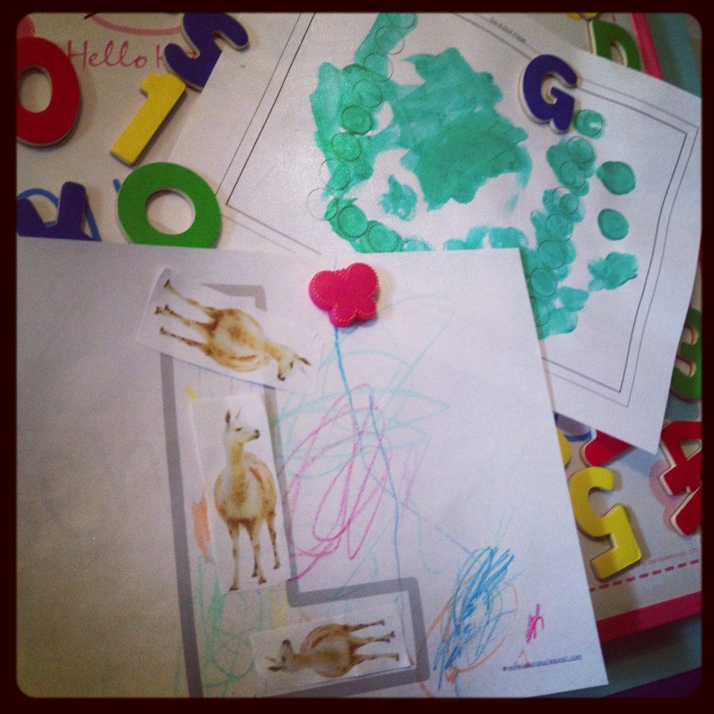 First Day of Preschool 2013
