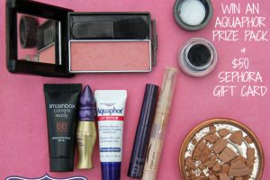 In My Makeup Bag - AQUAPHOR SEPHORA GIVEAWAY