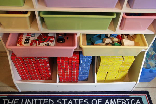 KidKraft Wall Storage Unit Organization