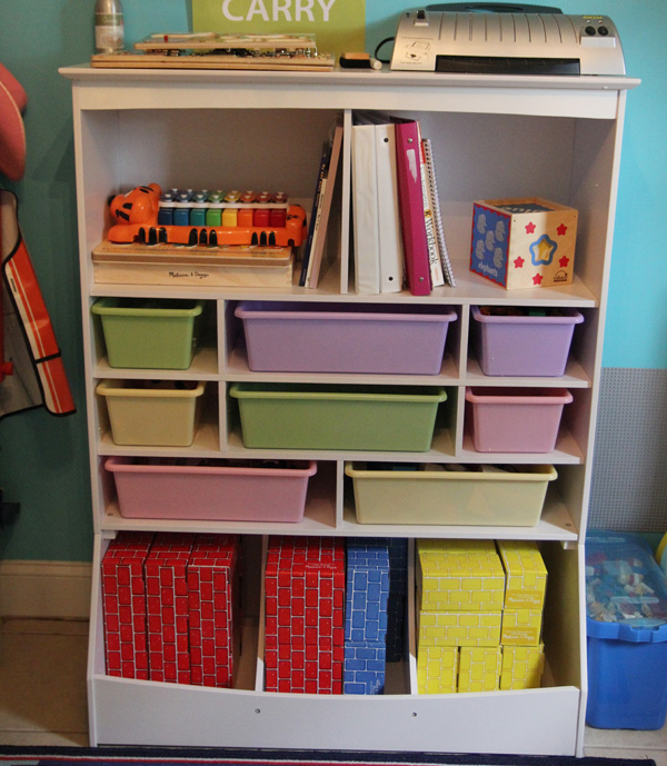 Perfect KidKraft Wall Storage Unit