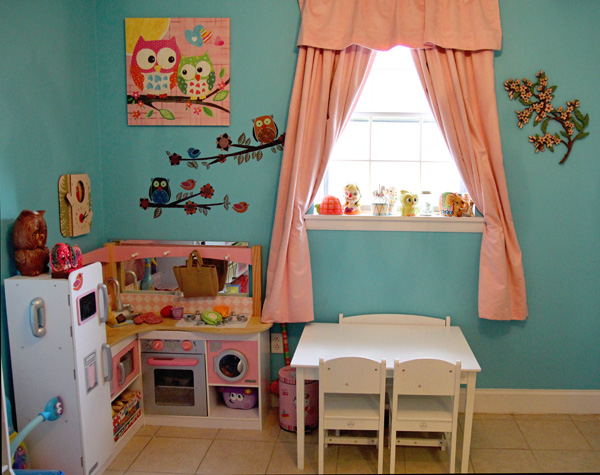 Kitchen Dining Area Play Room