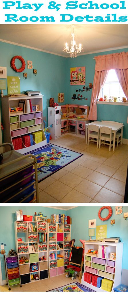 Play School Room Reveal with Details