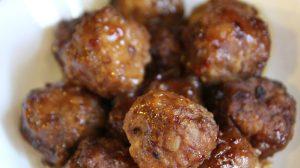 Sweet & Sour Meatballs Freezer Slow Cooker Recipe