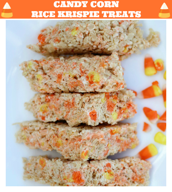 CANDY CORN RICE KRISPIE TREATS RECIPE ITSGRAVYBABY.COM
