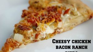 Chicken Bacon Ranch Pizza Recipe ItsGravyBaby.com