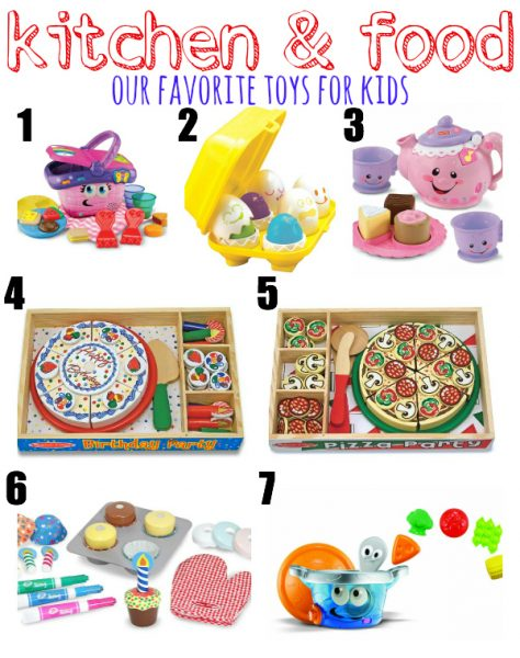 Our Favorite Kitchen & Food Toys for Kids {Gift Ideas}