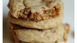 Snickers Cookies Recipe ItsGravyBaby.com