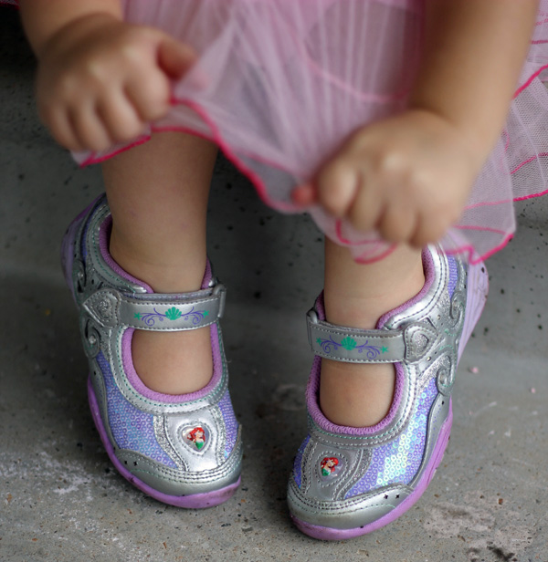 Stride Rite Disney Ariel Shoes
