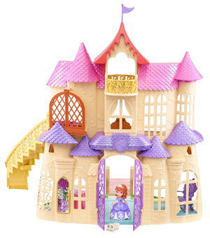 Sofia the First Talking Castle