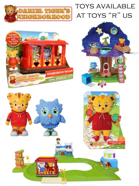 Daniel Tiger's Neighborhood Toys Inspire Creativity & Imaginative Play