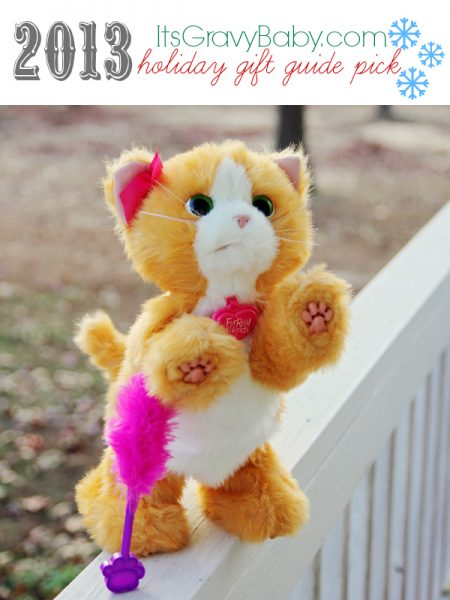 FurReal Friends Daisy Plays with Me Kitty Review {Holiday Gift Guide}