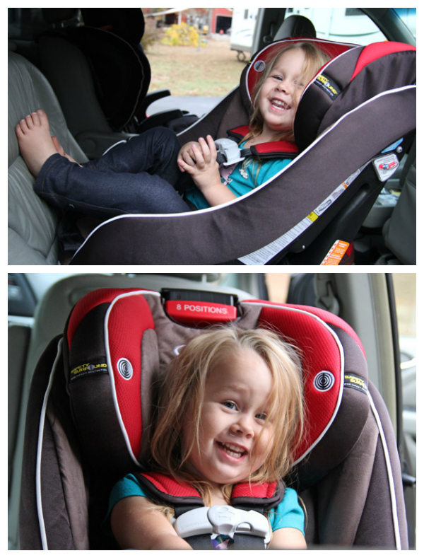 Graco Head Wise 70 Convertible Car Seat Review