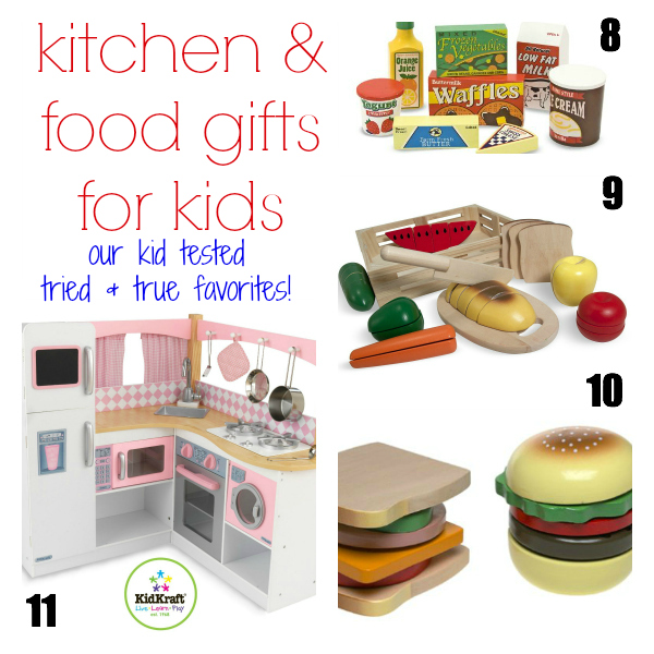 Kitchen and Food Gifts for Kids