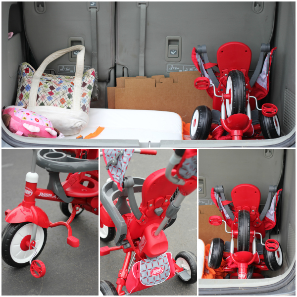 Radio Flyer EZ Fold Stroll 'N Trike Red