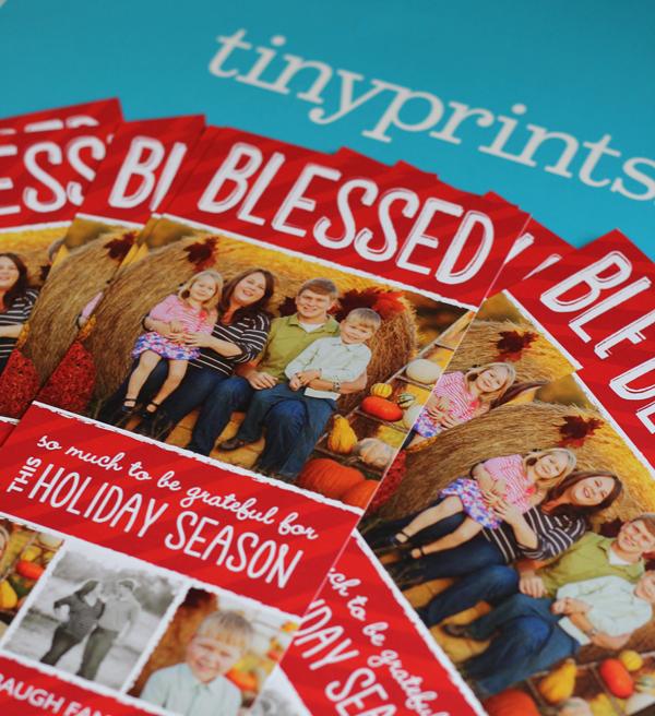 Tiny Print Christmas Cards
