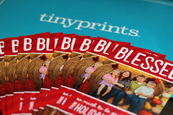 Spread Holiday Cheer with Tiny Prints – $50 Gift Code #Giveaway