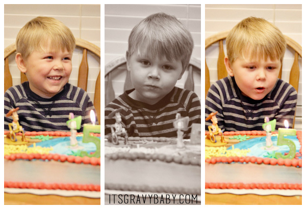 Bryson's 5th Birthday Toy Story blog