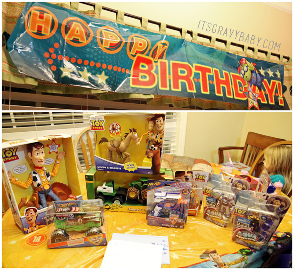 Toy Story Birthday Gifts Decorations
