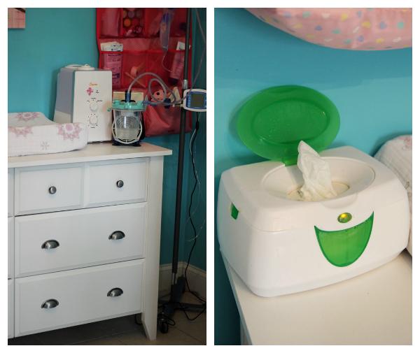 sauder dress baby room
