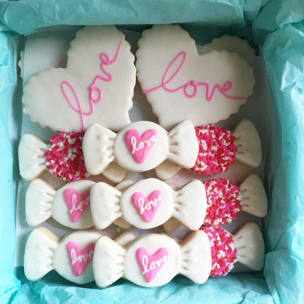 Valentine Cookies Sullivan Bakehouse