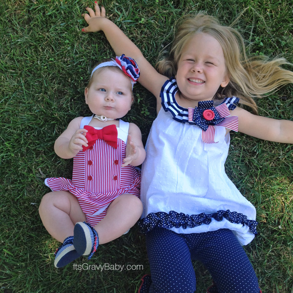 Patriotic Outfits Girls