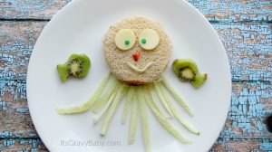 Peanut Butter and Jellyfish Sandwich for Kids 1
