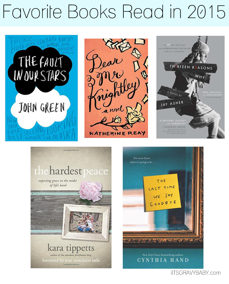 favorite books read2015