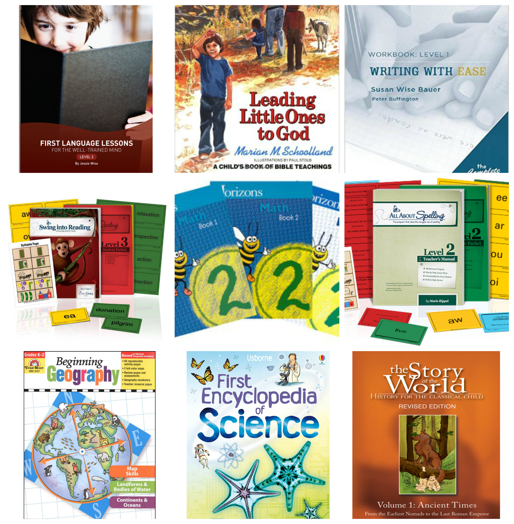 2nd Grade Homeschool Plans Curriculum