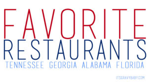 favorite restaurants southeast