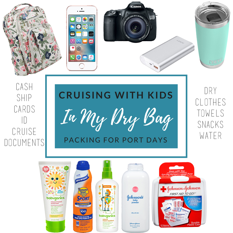 cruising with kids what to pack port