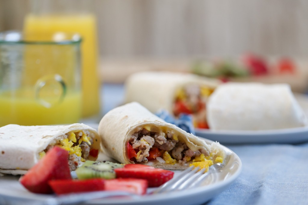 freezer cooking burritos